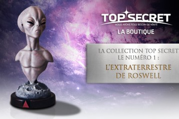 La collection des bustes Top Secret – le numéro 1