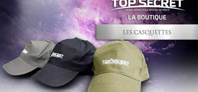 Les casquettes Top Secret