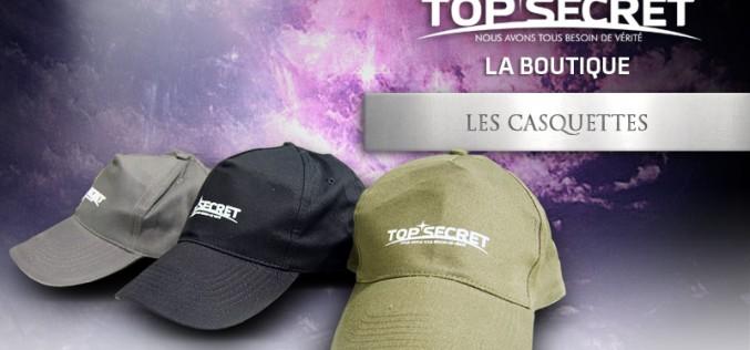 Les casquettes Top Secret