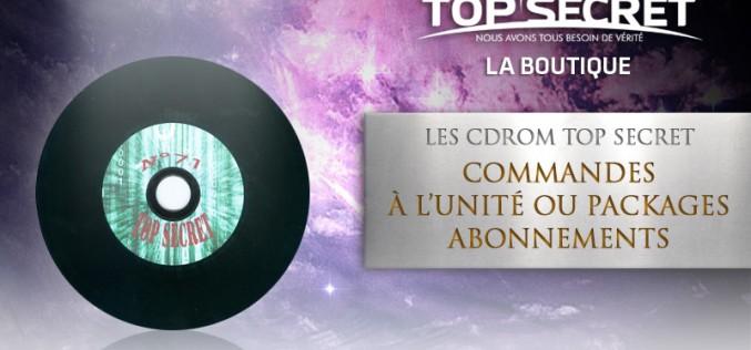 Les CDRom Top Secret