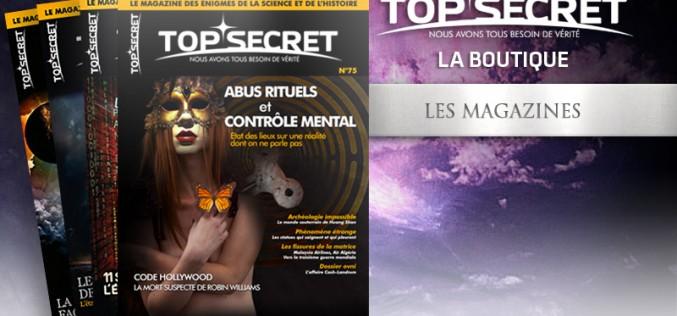 Le magazine Top Secret