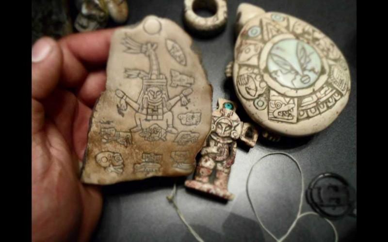 Artefacts Maya : les nouvelles preuves