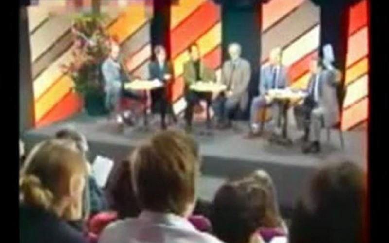 1992, Jimmy Guieu dénonce le complot à la TV
