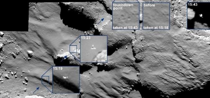 La tentative de forage du robot Philae sur la comète Tchouri a échoué