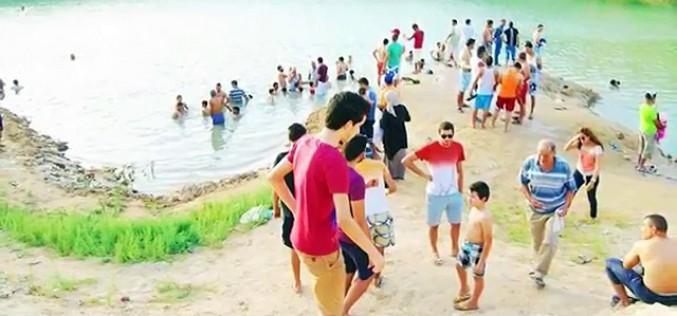 Apparition mystère d'un lac en Tunisie