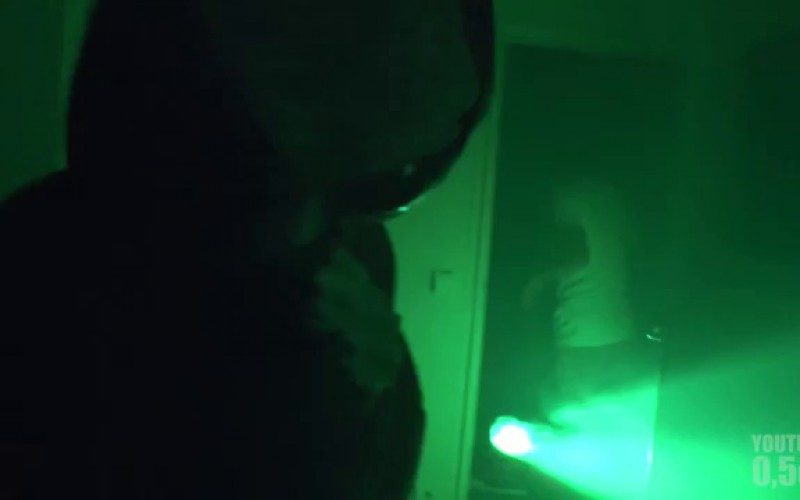 Caméra cachée : une visite alien au milieu de la nuit