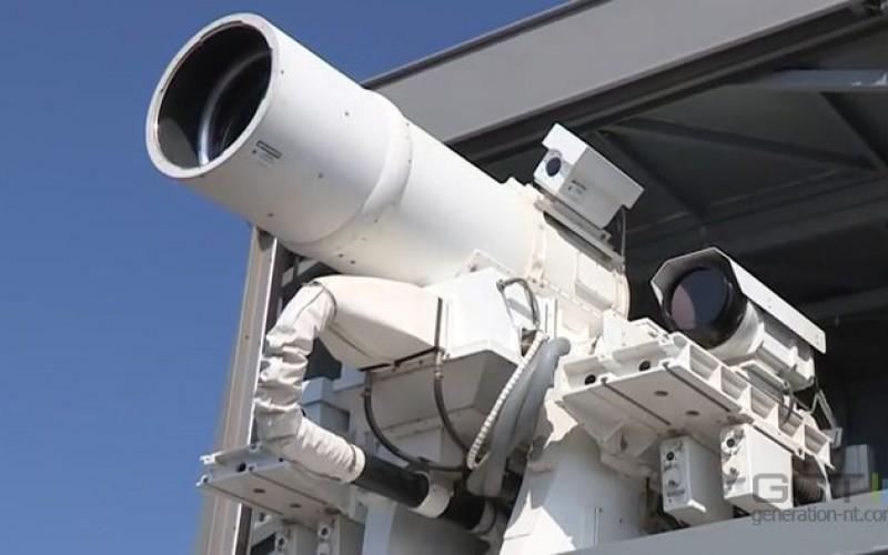 L'US Navy fait la démonstration de son laser anti-drones
