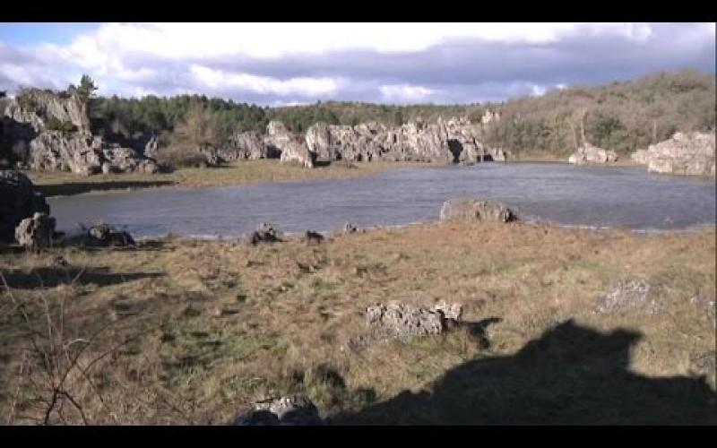 Mystère : Un lac éphémère apparaît sur le plateau du Larzac