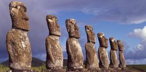 Ahu Akivi, Moai
