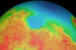 Un astéroïde de la taille de la Lune s'est autrefois écrasé sur Mars