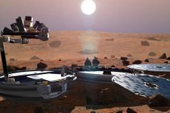 Dix ans après, on retrouve l'atterrisseur Beagle-2 sur Mars