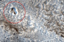 Une base souterraine d'OVNI repérée sur Mars ?