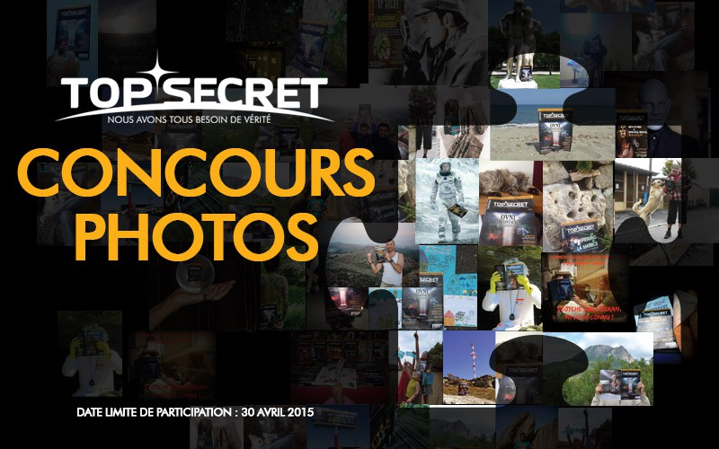 Le concours photos Top Secret