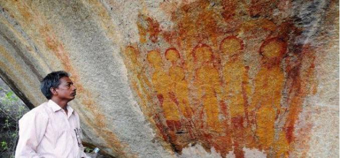Des peintures rupestres de 10.000 ans représentant des étrangers et des ovnis