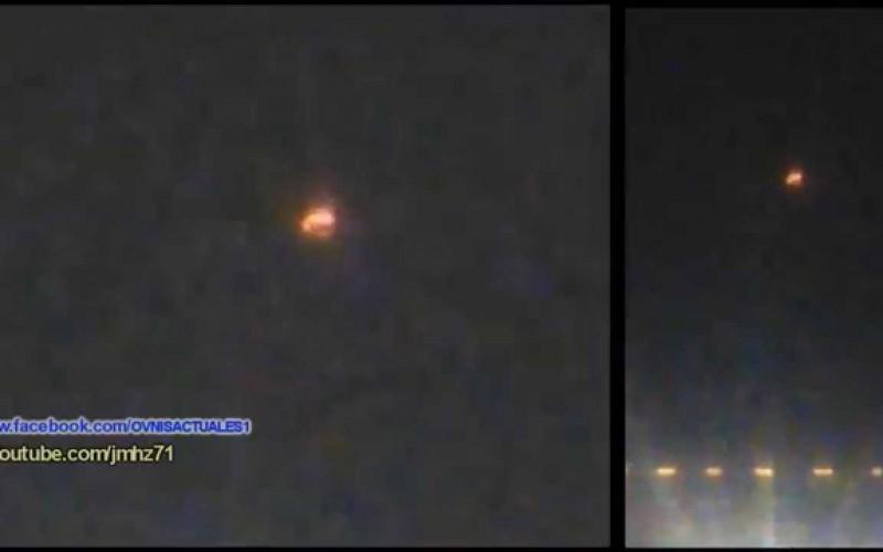 Un ovni qui survol de nuit un hôtel au Chilie (24.02.15)