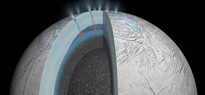 Y a-t-il de la vie sur la petite lune Encelade ?