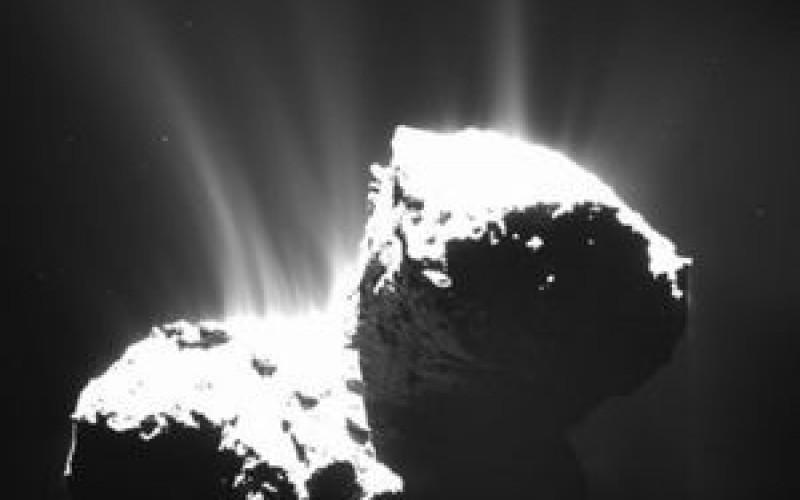 Rosetta détecte de l'azote moléculaire dans la comète 67P