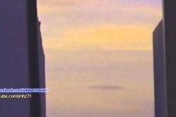 Ovni en vol stationnaire au-dessus de Torreon (Mexique)