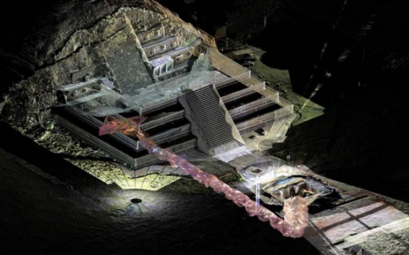 TEOTIHUACAN. Le mystère du mercure sous la pyramide du Serpent à plumes