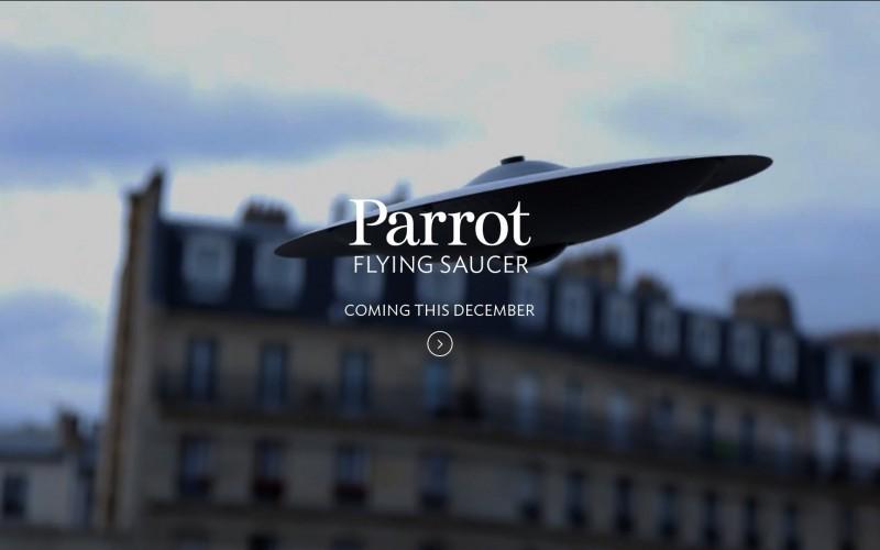 Le constructeur de drones Parrot lance une soucoupe volante