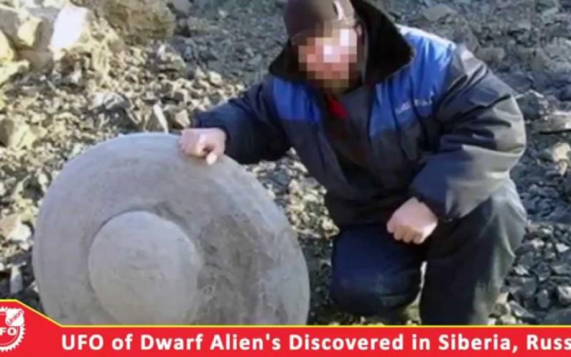 Présentation vidéo de l'ovni découvert en Sibérie (Russie, février 2015)