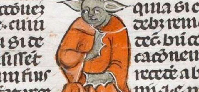 Maître Yoda dans un manuscrit médiéval