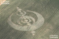 Mystérieux crop circle à Rauwiller