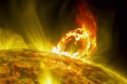 Une impressionnante éruption solaire filmée par la NASA