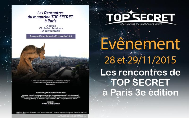 Les rencontres de top secret paris 3e dition top secret for Secret de paris booking