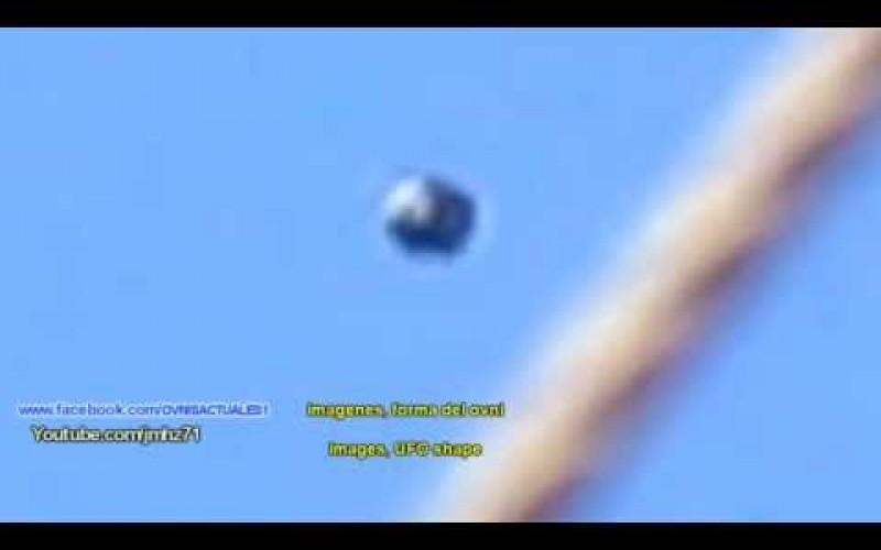 Un ovni en forme de sphère noire métallique survole Sau Paulo (Brésil, 24/07/15)