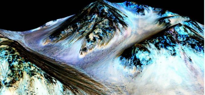 Il y a de l'eau liquide sur Mars : voilà pourquoi c'est important