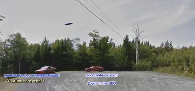 Un ovni repéré par Google Earth au Canada (12/09/2015)