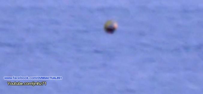 Une sphère non identifiée filmée au-dessus de Sevastopol (Russie, 15/09/2015)