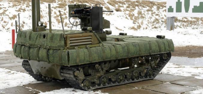 Bientôt une armée de robots autonomes ?