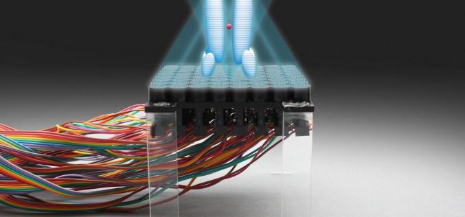 Un surprenant rayon tracteur qui déplace des objets grâce aux ultrasons