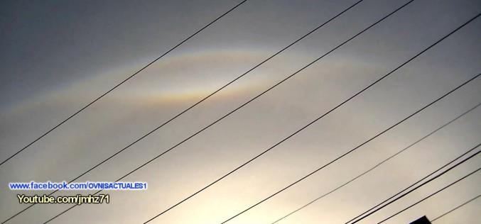 Phénomène étrange dans le ciel du Méxique qui ressemble à un oeil (24/10/2015)