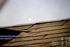 Un orb filmé au-dessus de Los Angeles (22/10/2015)