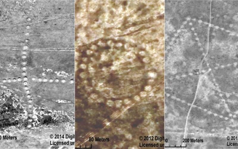 La NASA publie des images d'immenses géoglyphes situés au Kazakhstan