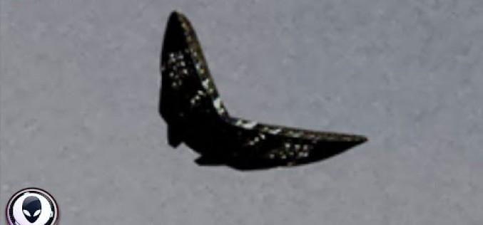 Un étrange OVNI aux allures de papillon