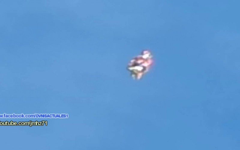 Un objet volant non identifié filmé en Argentine 27/11/2015
