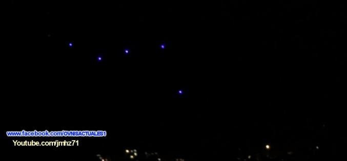 Des lumières non identifiées au-dessus de Bogota (Colombie, 21/01/16)