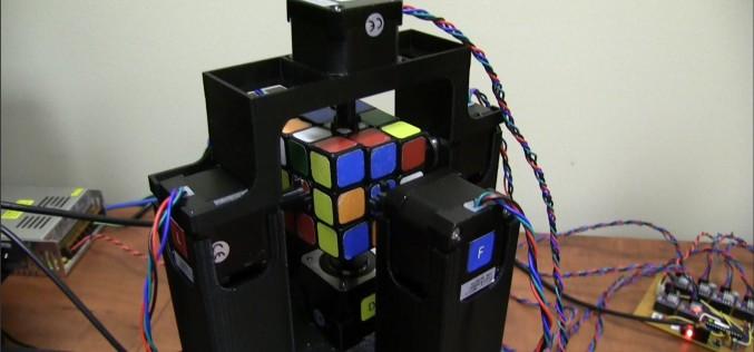 Le robot qui résout des Rubik's cube en 1 seconde