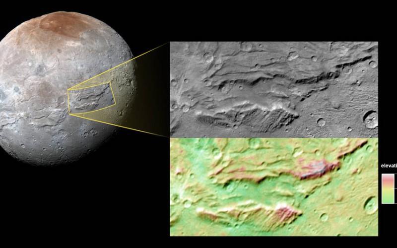 Charon, lune de Pluton, a sans doute hébergé un océan