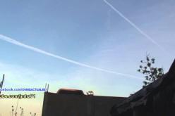 Flagrant délit de chemtrails au-dessus de Tijuana (Mexique, 23/02/2016)