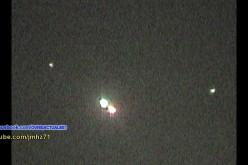 Un ovni filmé par un hélicoptère de la police (Tijuana, 17/02/2016)