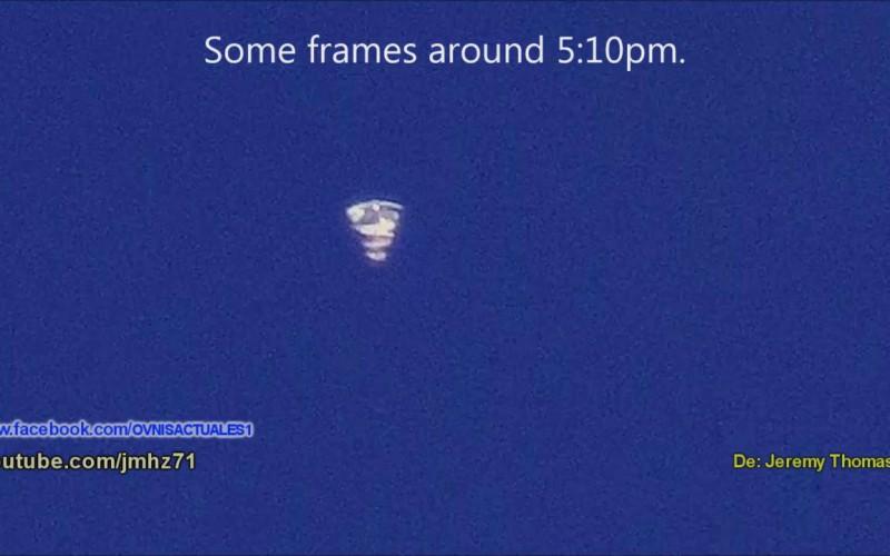 Ovni en forme de cône filmé en Floride (09/03/2016)