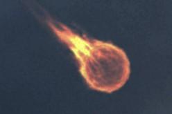 Une boule de feu tombe au-dessus de Los Angeles (01/2016)