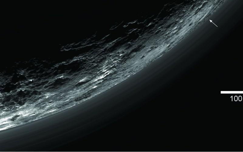 Les étranges jeux de lumière de Pluton