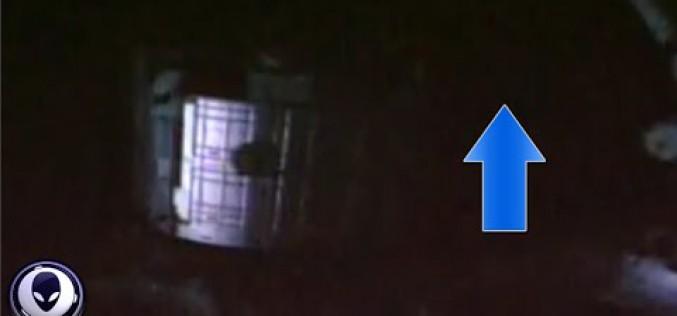 Mystérieuse trainée de lumière filmée par l'ISS