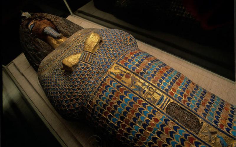 L'occupant mystère du tombeau égyptien KV55